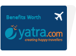 Exclusive Travel Benefits from Yatra.com