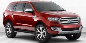 Next-gen Ford Endeavour Spotted On test First Time