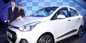 Hyundai Xcent commercially debuts in India at INR 4.66 Lakhs