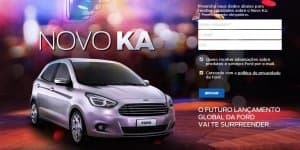 New Ford Ka from Brazil excites India!