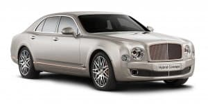 2014 Auto China: Bentley unveils its first Hybrid Concept