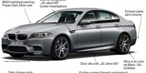 30th Anniversary BMW M5 leaked online