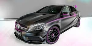 AMG Performance Studio whips out custom A45 AMG called 'Erika'