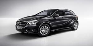 Official: Mercedes Benz A-Class gets new black paint job