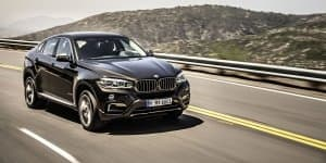 2015 BMW X6 revealed online