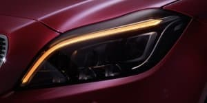 Mercedes-Benz debuts MULTIBEAM lights in the new CLS