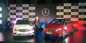 Mercedes Benz A-Class & B-Class Edition 1 launched in India