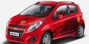 Chevrolet Beat & Sail Manchester United Limited Editions launched