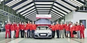 Production of 2015 Audi TT begins in Hungary