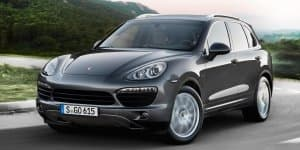 Cayenne Diesel 'Platinum Edition' launched