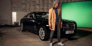 Singer Labrinth is releasing a song around the Rolls-Royce Wraith