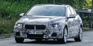 BMW 1-Series sedan spied; Audi A3 rival coming in 2016