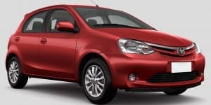 Facelift Toyota Etios and Liva spied