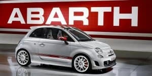 Abarth 500 Launching Next Month; Spied at Fiat Dealership
