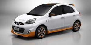Nissan presents Gold Micra to commemorate 2016 Olympics