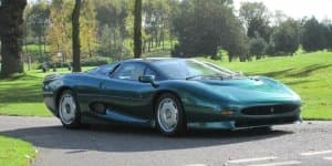 Brunei Sultan's Classic 1994 Jaguar XJ220 to be Auctioned in UK