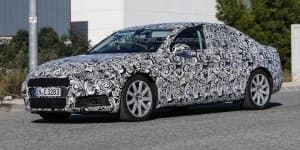 2016 Audi A4 spied, gets more sharper lines