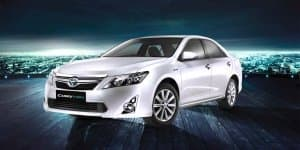 Toyota Camry Hybrid completes one year in India