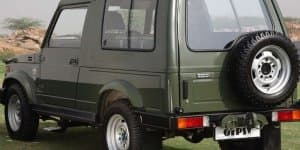 Maruti Receives Order of 4100 Units of Gypsy from Indian Army