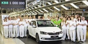 Skoda crosses milestone of producing million vehicles in a year for the first time