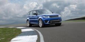 Video - Range Rover Sport SVR hits the circuit