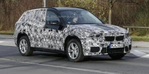 India Bound 2016 BMW X1 caught testing in latest spy shots