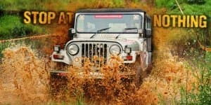 Mahindra Thar 4X4 Spied Testing; Images Inside