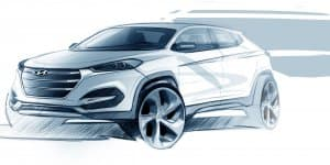 Video - All-New 2016 Hyundai Tucson Rendered Image Out