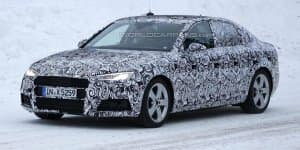 India-Bound 2015 Audi A4 Spied Testing