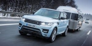 Video - Range Rover Sport Hybrid Testing Near Arctic Circle