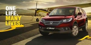 Honda CR-V 2.4L AT AWD Variant Gets More Features