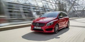 2015 New Mercedes-Benz B Class launching on March 11, 2015 in India