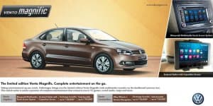 Volkswagen Vento Magnific Edition Launched
