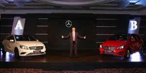 2015 Mercedes-Benz B Class Facelift Launched at Rs. 27.95 Lakhs