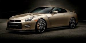 Nissan GT-R Limited Gold Edition Revealed