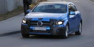 Next-Generation Mercedes-Benz A-Class spied