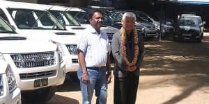 Isuzu India Receives Order of 25 MU-7 SUVs