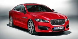 Video - World Première of 2016 Jaguar XF today