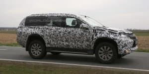 India-Bound 2016 Mitsubishi Pajero Sport Spied