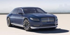 Is Lincoln Continental concept a Bentley Flying Spur rip-off?