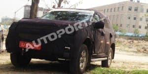 Exclusive – Chevrolet Trailblazer caught testing in Delhi