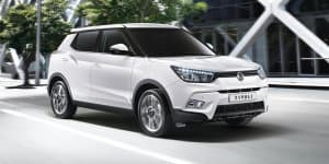 UK - Mahindra SsangYong Tivoli Launched at Rs. 11.89 Lakhs