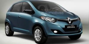 Renault XBA Hatchback World Premiere on May 20, 2015 in India