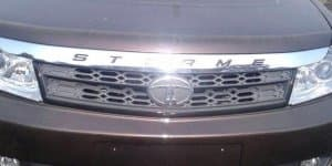 Tata Safari Storme facelift interiors spied again