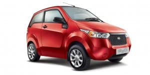 Mahindra e2o Electric Car Re-Priced at Rs. 4.99 Lakhs