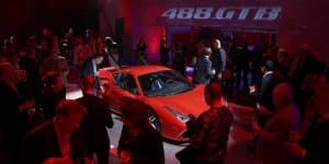 New Ferrari 488 GTB Unveiled in UK