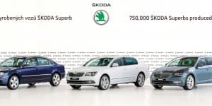 750,000th Skoda Superb Rolled Out in Czech Republic