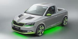 Skoda Trainees Create Fabia-Based FUNstar Pickup Concept