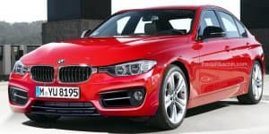 2015 BMW 3-Series Facelift Unveiling on May 7, 2015