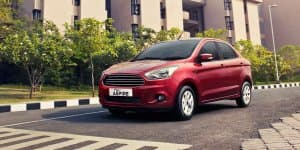 Image Gallery - Ford Aspire compact sedan official images